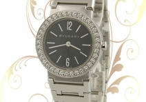 "Bvlgari BBW26BGDB Ladies' ""Bvlgari Bvlgari"", White Gold, Diamond"