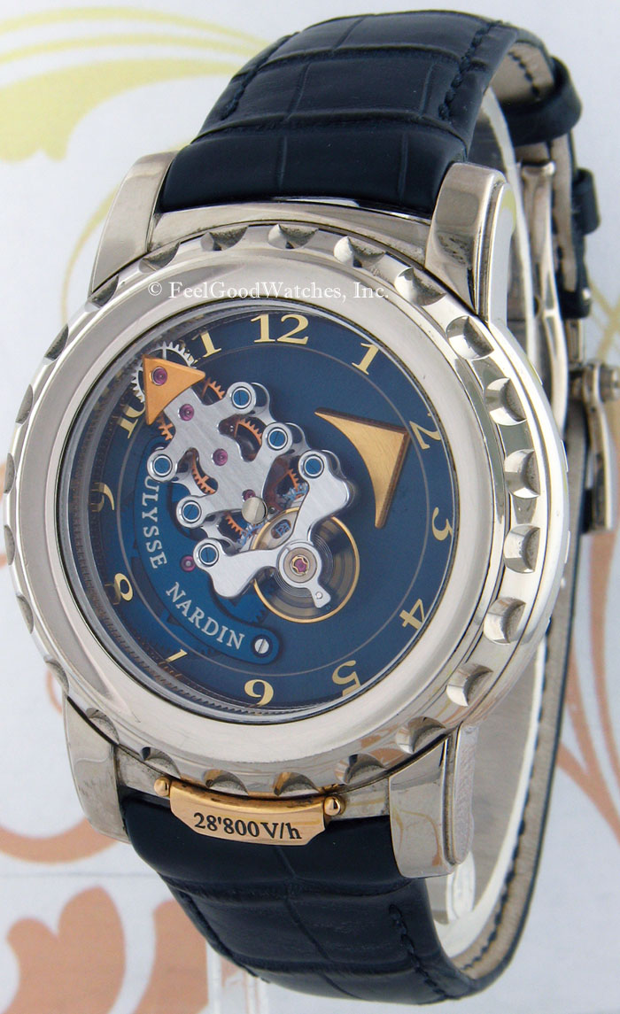 Ulysse Nardin 020-88 Freak 28,800 V/h, White Gold