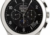 Zenith 03-0520-410-22C492GB Class Moon Phase Chronograph, Steel